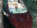 Grimm 500 Motorboot Holz Barca a motore classica